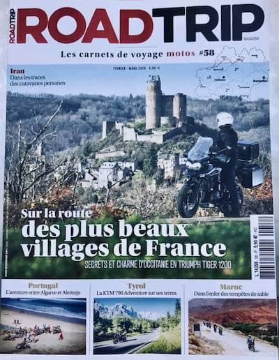 Roadtrip Magazine Couv Fev-Mars-2020